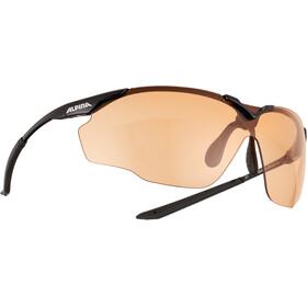 Alpina Splinter Shield VL Gafas, negro